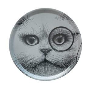 Small-grey-circular-tray