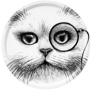 Supersize-white-cat-monocle-tray