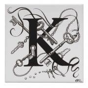 K - Keyhole Chaos Tile-0