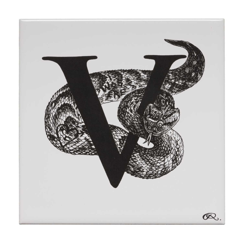 V - Vandalised Viper Tile-0