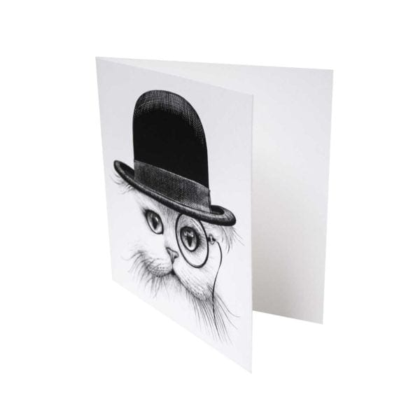 Cat in Hat Card-0