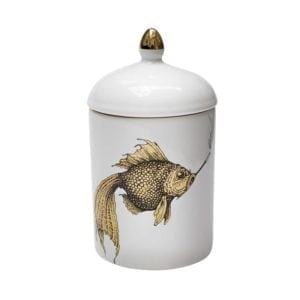 Gold Fish Cosy Candle-0