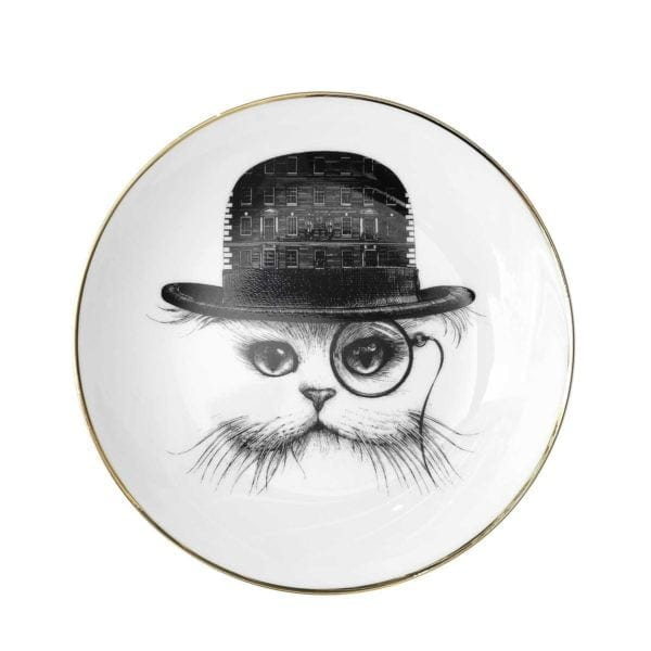 F&M Cat Small Plate-0
