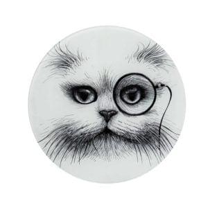 Cat Monocle Glass Placemat-0