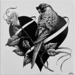 Lovebird Tile-0