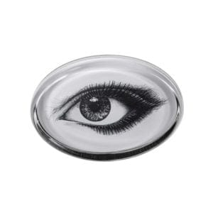 Looking at You Eye Paperweight Oval -0