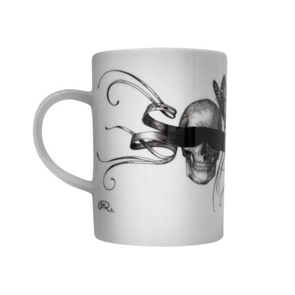 Masked Skull Marvellous Mug-0