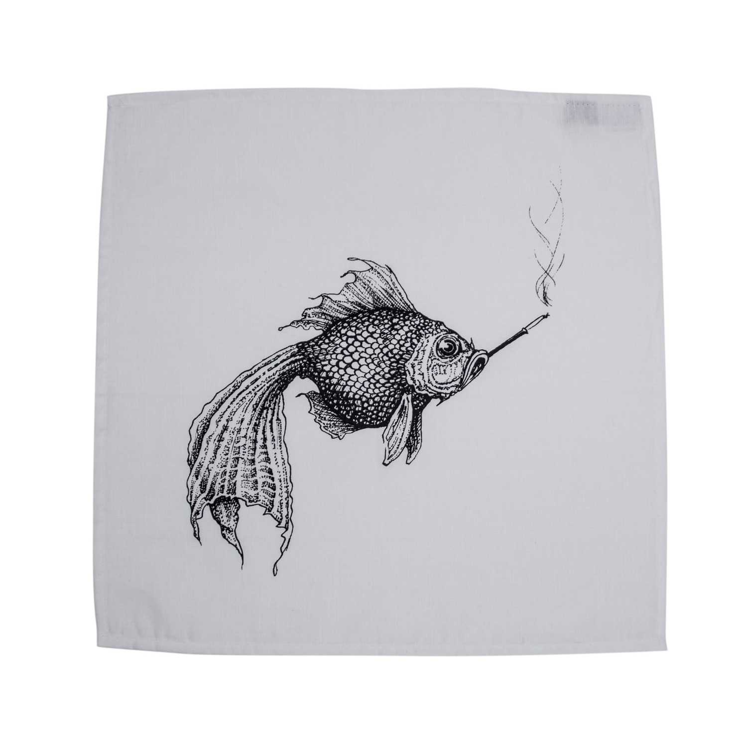 Smokey Fish Napkin-0
