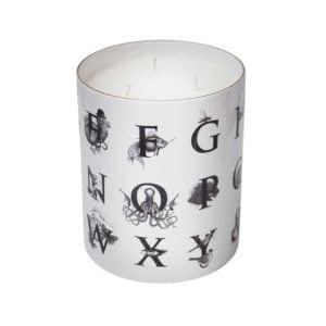 Supersize Alphabet Candle-0