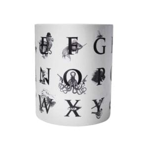 Supersize Alphabet Vase-0