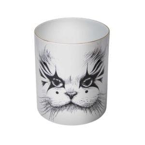 Supersize Clown Cat Candle-0
