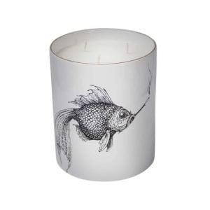 Supersize Smokey Fish Candle-0
