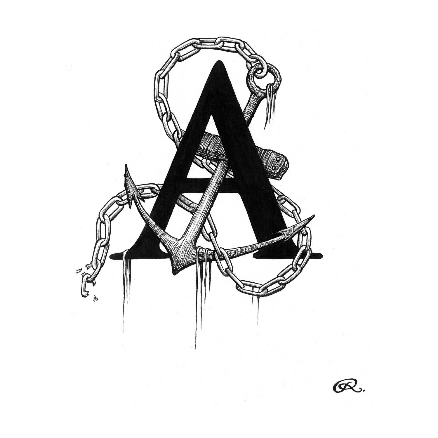Anchor's Away Intricate Ink-0