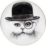 Cat In Hat Plate-0