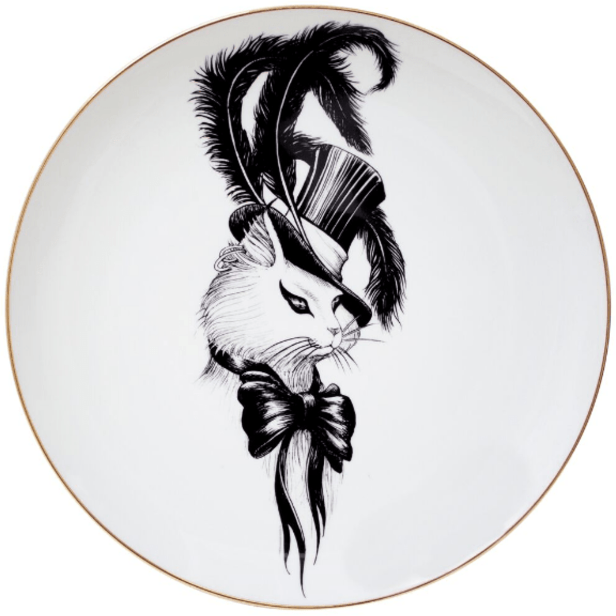 Madam Puss Plate-0