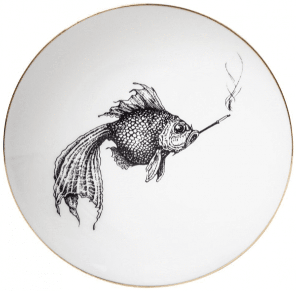 Smokey Fish Plate Coaster