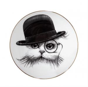 Cat In Hat Tilt Plate-0