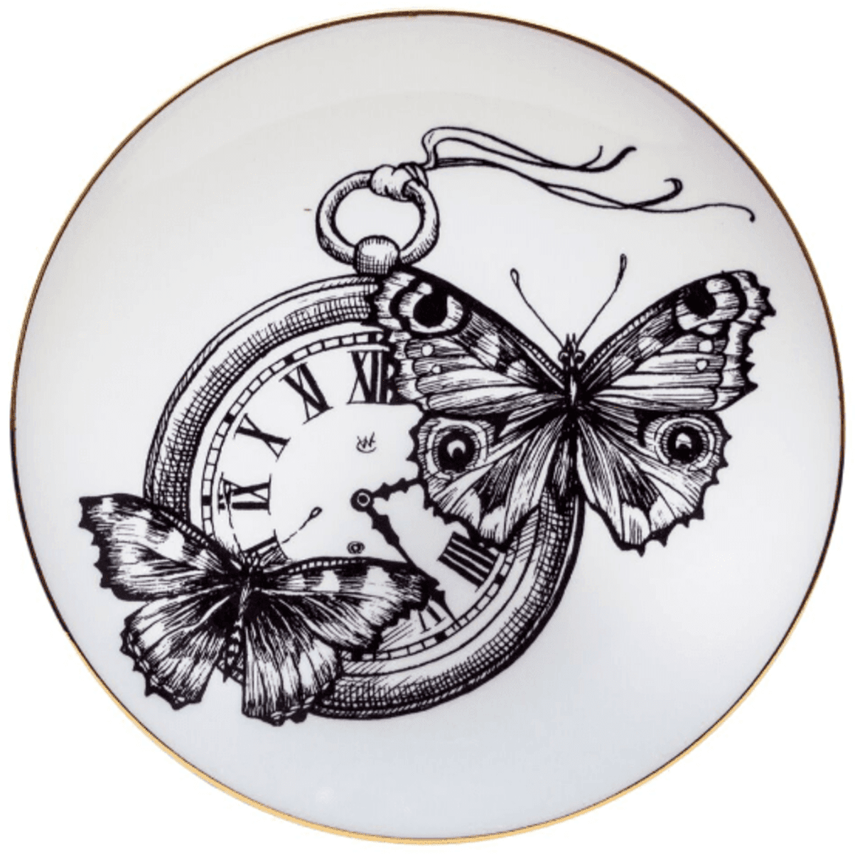 Time Flies Plate-0