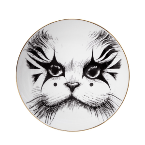 Clown Cat Plate-0