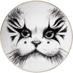 Clown Cat Plate-0