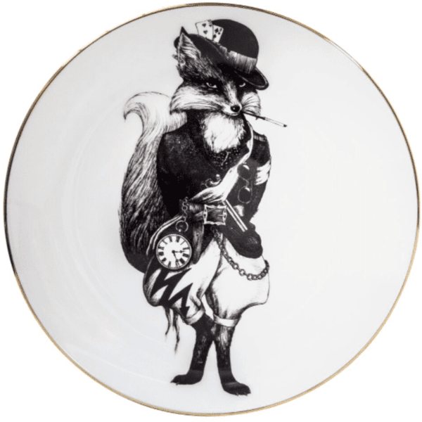 Fantastic Mr Fox Plate-0