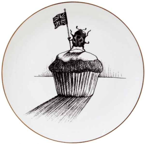 Ladybird Cupcake Plate-0