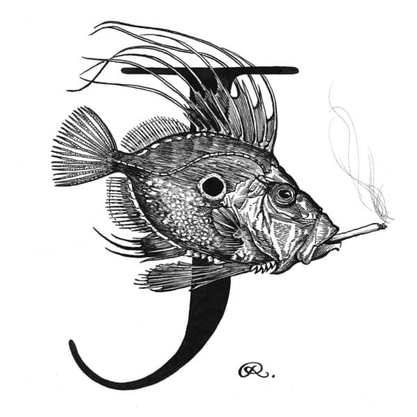 John Dory with a Joint Intricate Ink-0