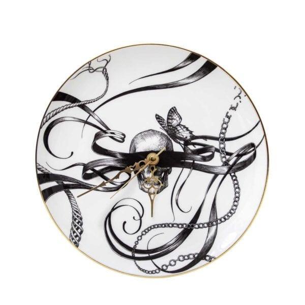 Masked Skull Clock-0
