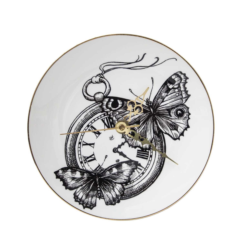 Time Flies Clock-0