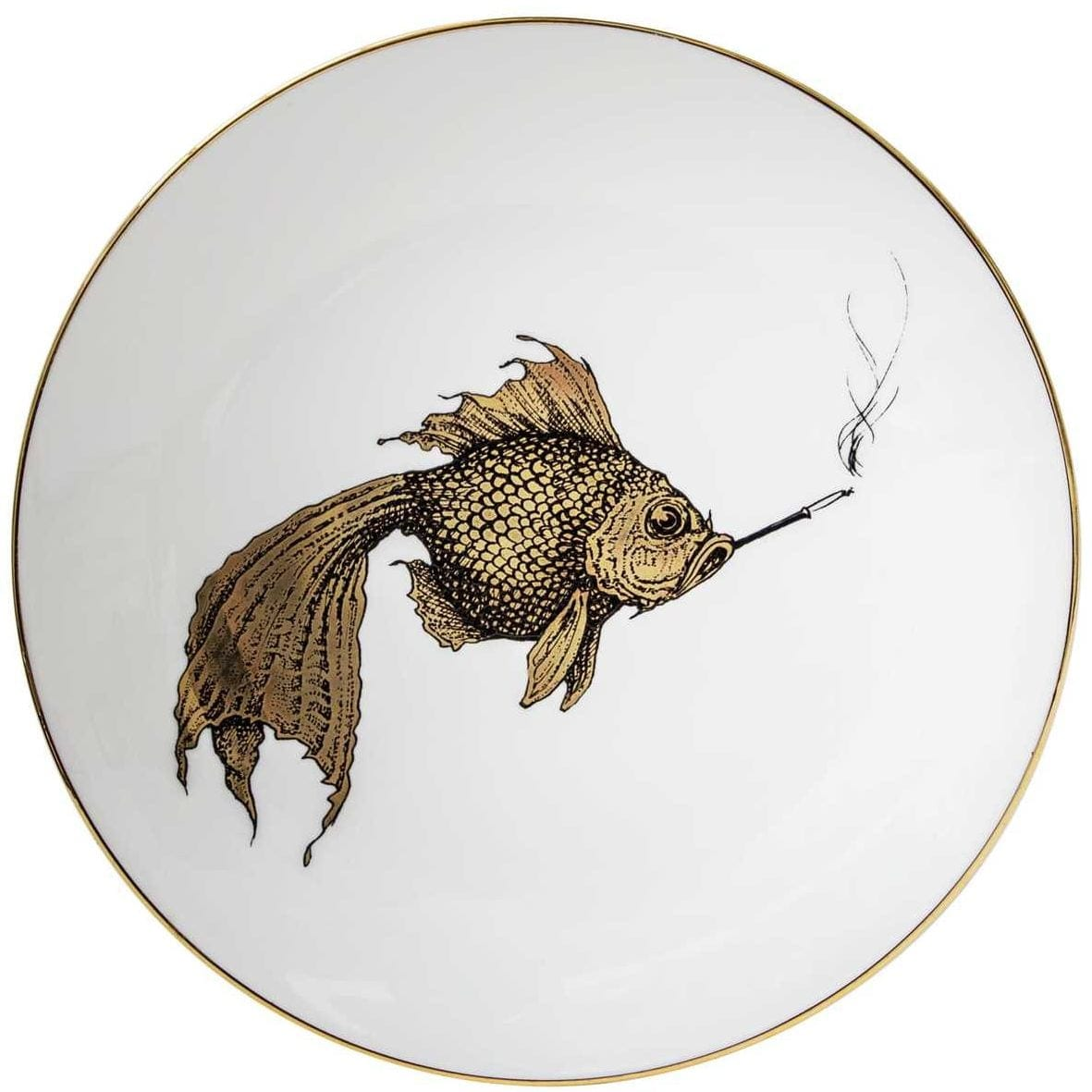Smokey Fish Gold Plate-0