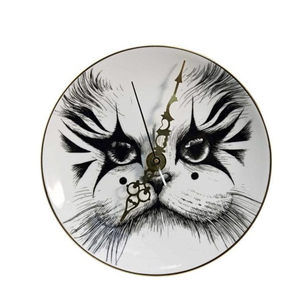 Circus Cat Clock-0