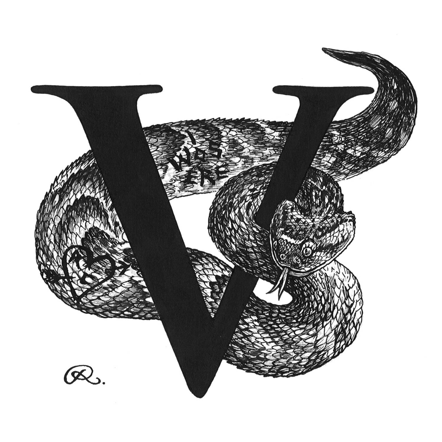 Vandalised Viper Intricate Ink-0