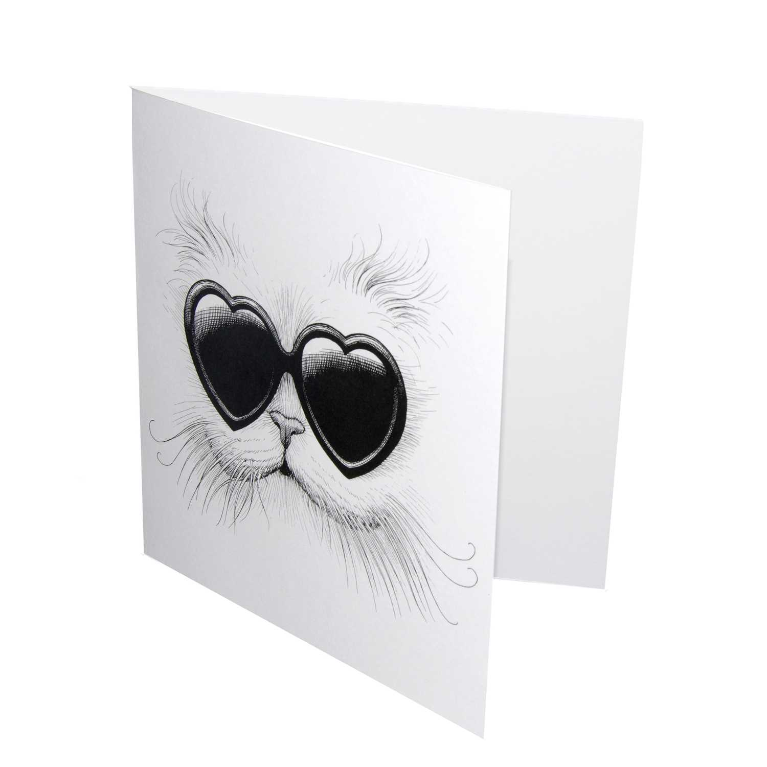 Love Cat Card-1102