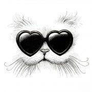 Love Cat Card-0