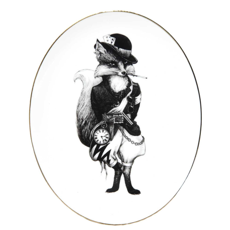 Fox Oval Plate-0