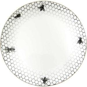 Bees Around Edge Plate-0