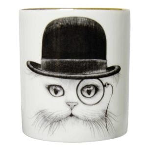 Cat in Hat Cutesy Candle-0