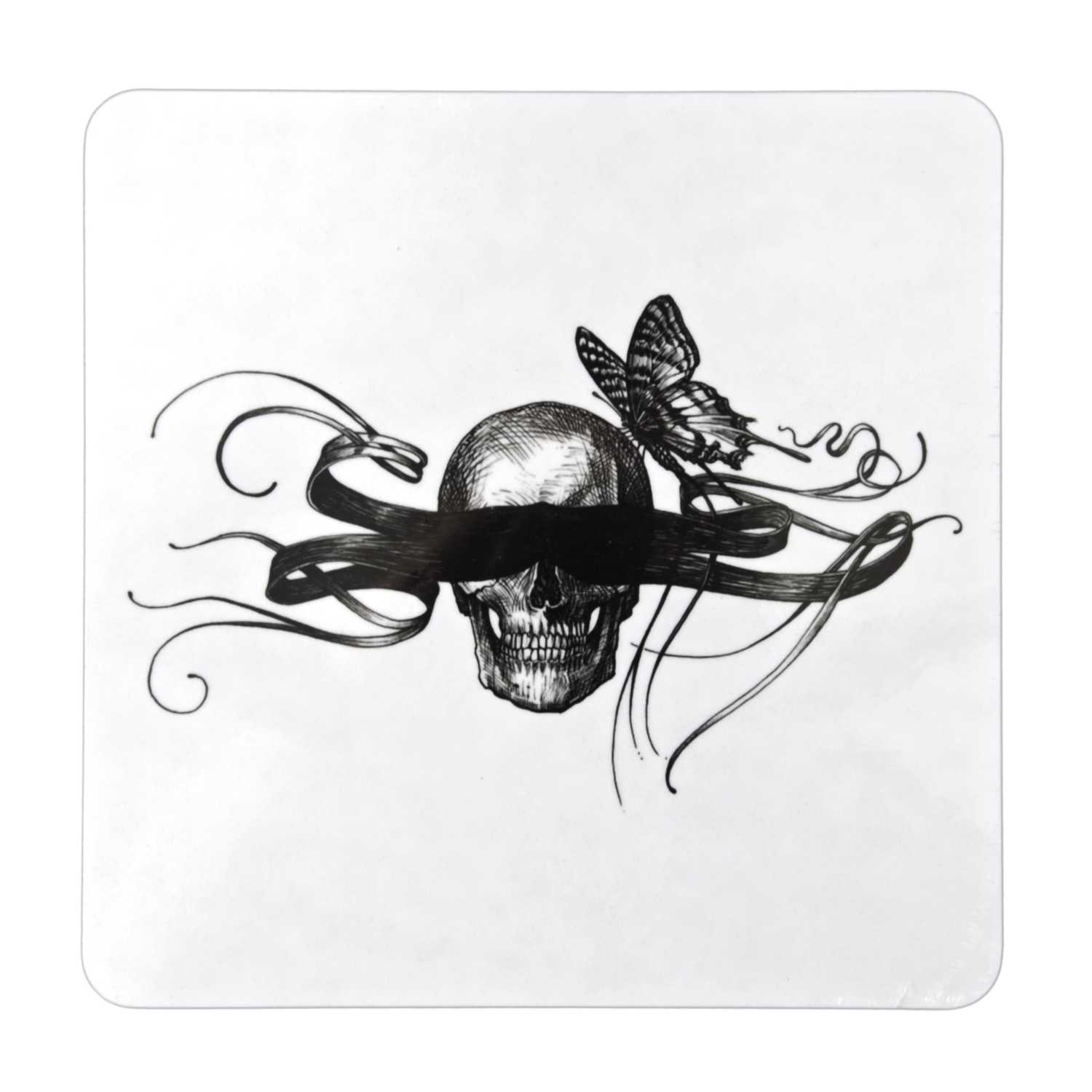 Masked Skull Placemat (Set of 4)-0
