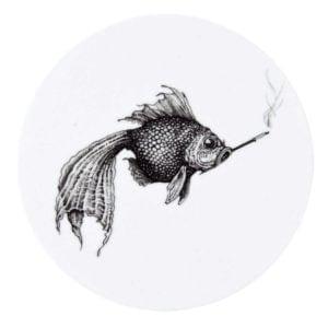 Smokey Fish Coaster (Set of 4)-0
