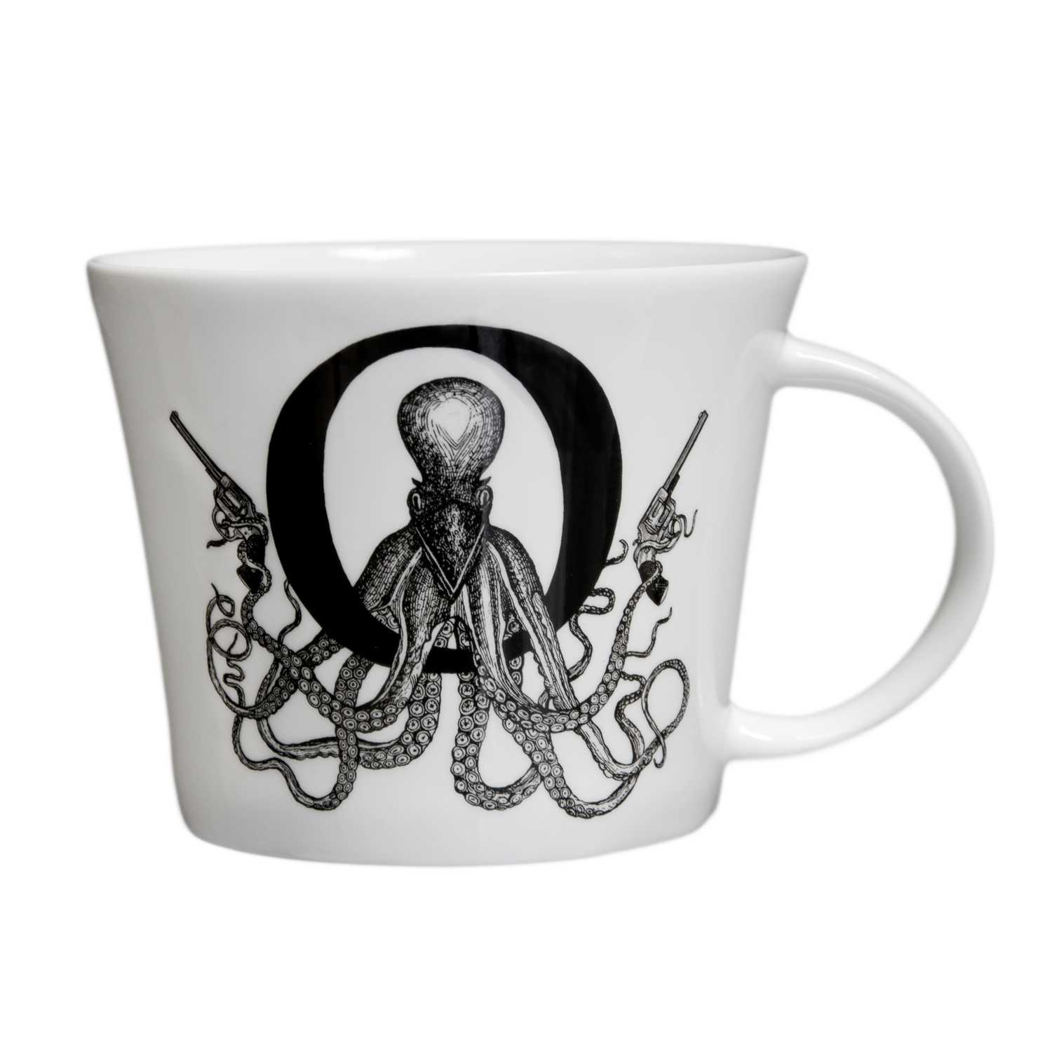 O - Outlaw Octopus Mighty Mug-0