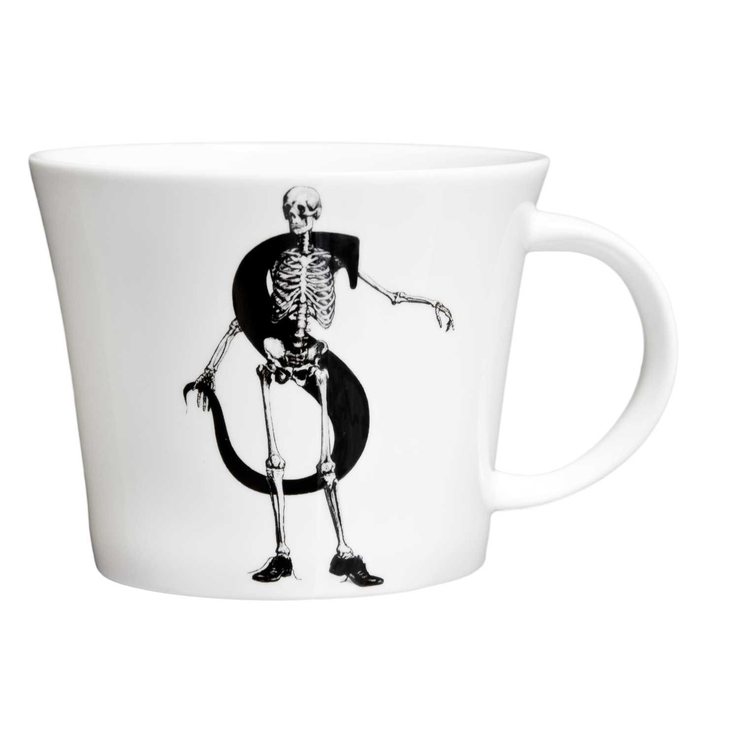 S - Skeleton in Shiny Shoes Mighty Mug-0