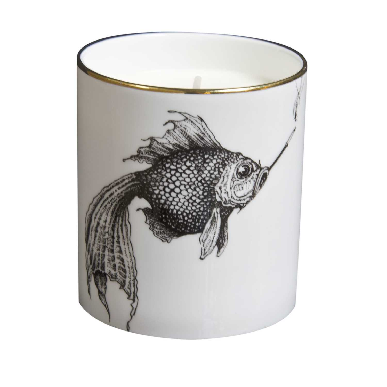 Smokey Fish Cutesy Candle-0