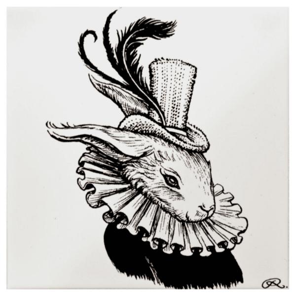 Bling Bunny Tile-0