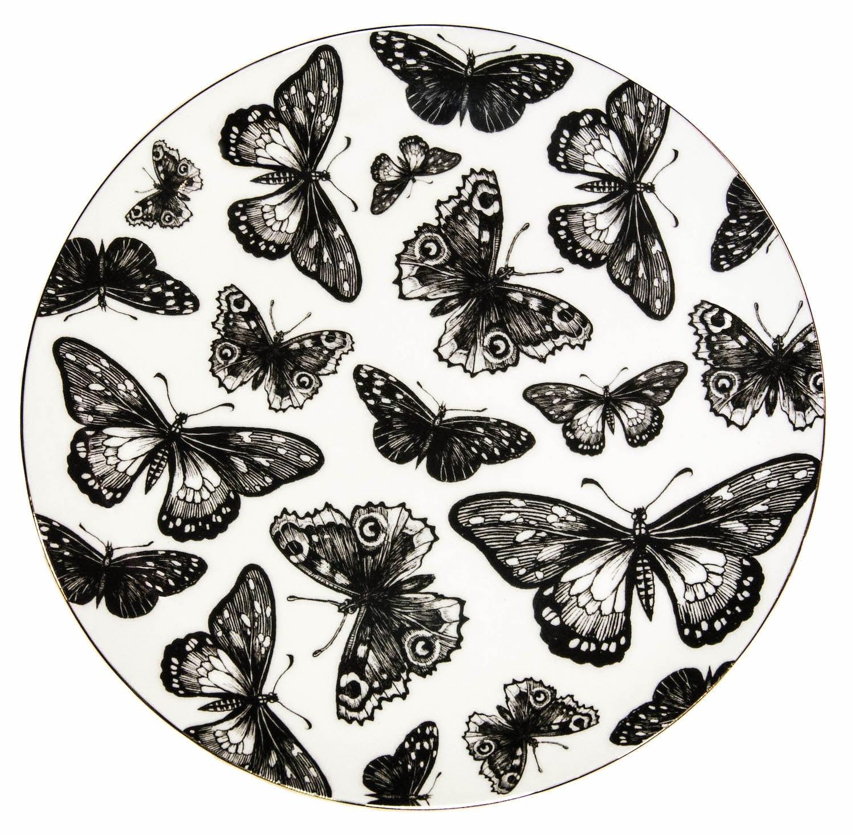 Butterflies Plate Coaster