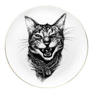 Gangster Cat Pate Coaster