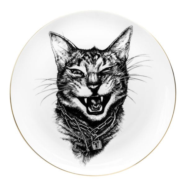 Gangster Cat Pate Coaster