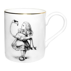 Alice in Wonderland Flamingo Majestic Mug