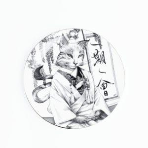 Kat Kimono Plate