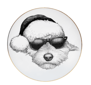 Christmasy Fine Bone China Coasters